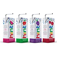 Hint Kids Water Variety Pack, (Pack of 32) 6.75 Oz Boxes, 8 Boxes Each of: Cherry, Watermelon, Apple, & Blackberry…
