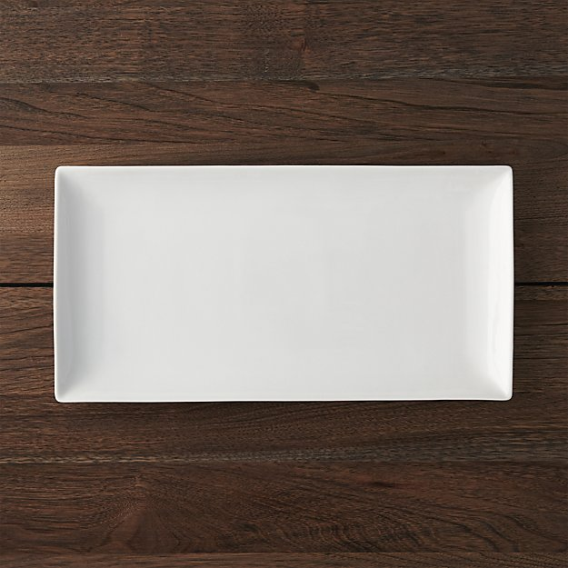 """Rectangle 15""""x7.75"""" Platter 