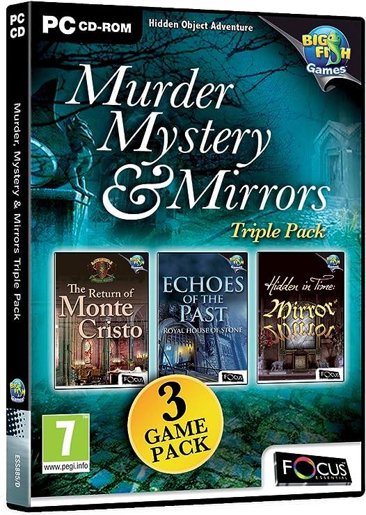 Murder, Mystery & Mirrors Triple Pack (PC CD) [Importación inglesa ...