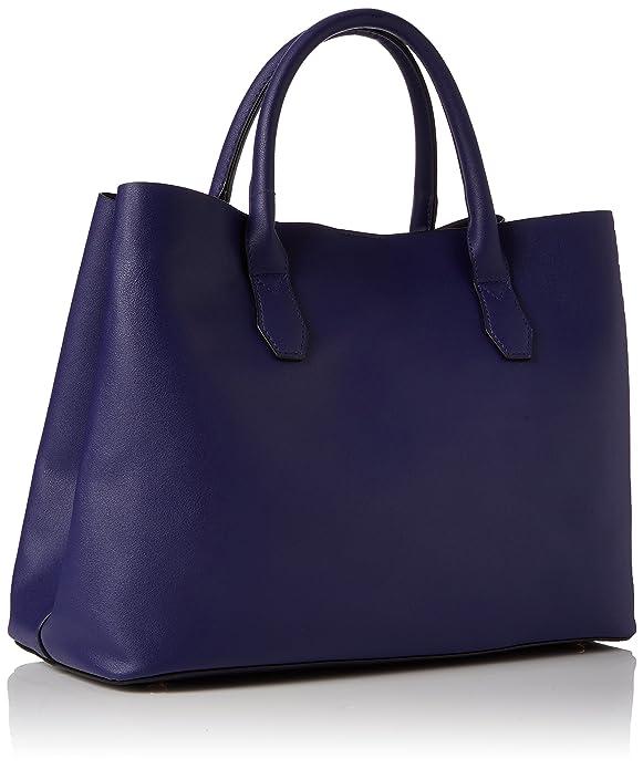 New Look Lilo Soft, Sacs portés main femme, Blue (Mid Blue), 17.5x25x25 cm (W x H L)
