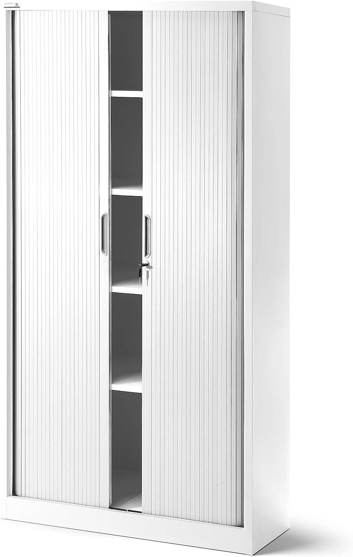 Jan Nowak T001 – Armario con puerta de persiana, armario universal ...