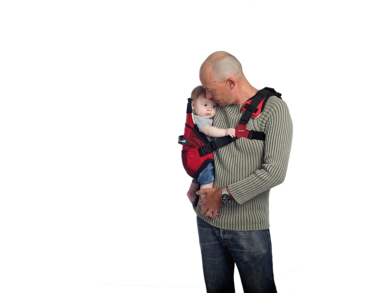 Amazon.com: Brevi Pod portador de bebé y niño (rojo): Baby
