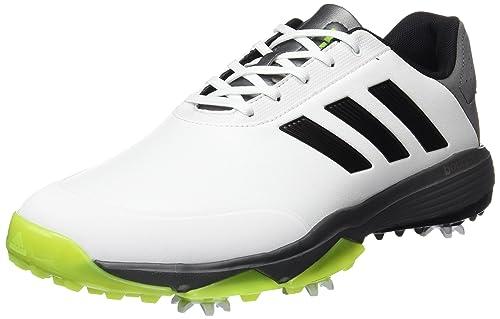 wholesale dealer 94896 e38fe Adidas Mens Adipower Bounce WD Golf Shoes - WhiteBlackSlime - UK 7.5