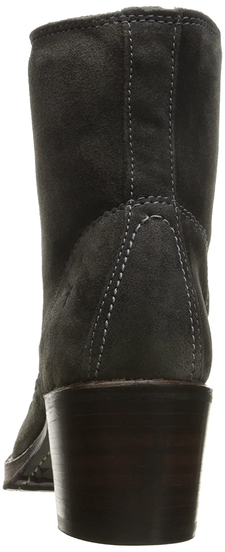FRYE Women's Sabrina 6G Lace up Suede Boot B019448OKK 9.5 B(M) US|Charcoal