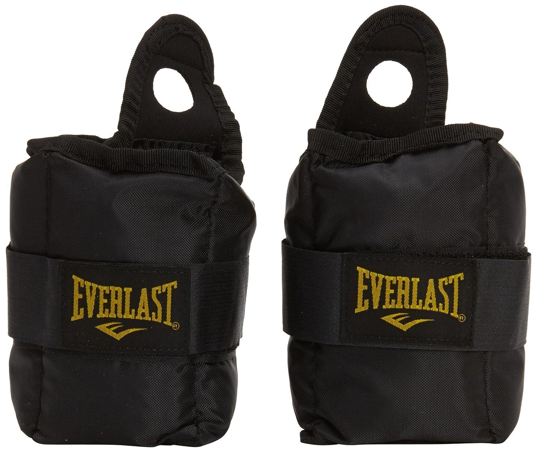 Everlast EV2754BK - Tobillera/muñequera, color negro EX2754BK