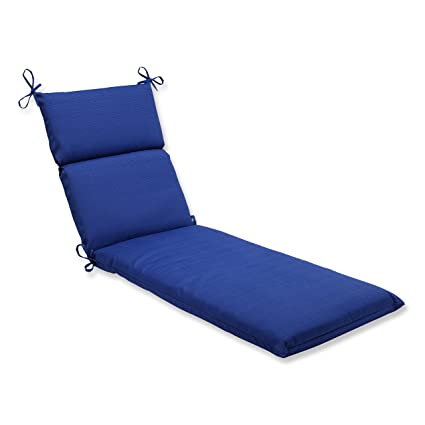 Pillow Perfect Outdoor Indoor Chaise Lounge Cushion 72 5 In X 21 In Fresco Blue