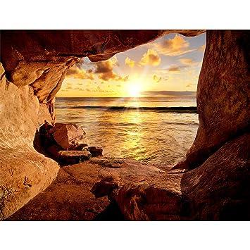 Fototapete Strand Vlies Wand Tapete Wohnzimmer Schlafzimmer Büro Flur  Dekoration Wandbilder XXL Moderne Wanddeko - 100% MADE IN GERMANY - ...