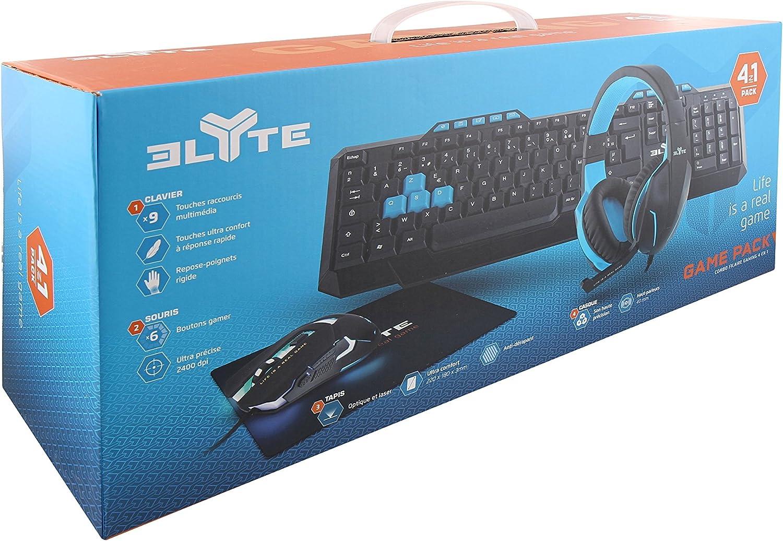 Elyte T/'NB Pack Gaming 4 en 1