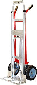 Milwaukee Hand Trucks 60137 4-in-1 Hand Truck with Noseplate Extension