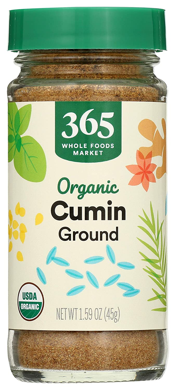 365 by Whole Foods Market, Organic Seasoning, Cumin - Ground, 1.52 Ounce