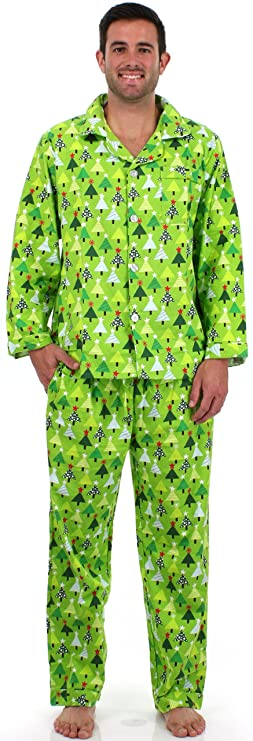 54946cc0fe SleepytimePjs Christmas Family Matching Pyjamas (Trees
