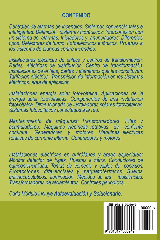 Instalaciones eléctricas especiales en edificios e industria: Amazon.es: Miguel DAddario: Libros