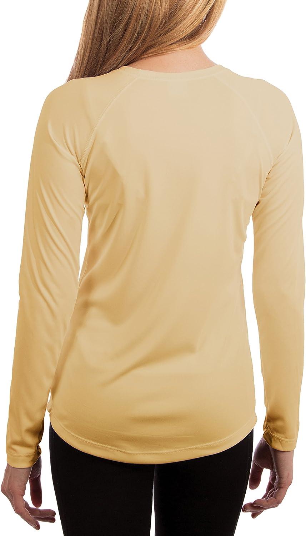 Femme T-Shirt /à Manches Longues Solar Performance UPF Protection Solaire UPF 50+ Vapor Apparel