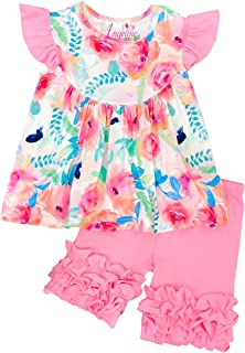 904136820 Amazon.com  Yliyang Baby Girls Kids Summer Boutique Clothes Animal ...
