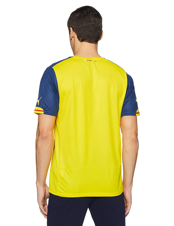 8488798b6 Amazon.com   Puma Arsenal FC Away Jersey - Adult - Empire Yellow Estate Blue  -   Sports   Outdoors