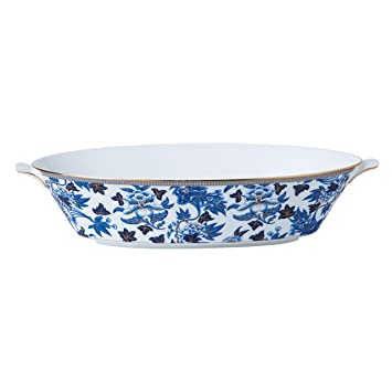 Wedgwood Hibiscus Oval Serving Bowl  sc 1 st  Amazon.com & Amazon.com | Wedgwood Hibiscus Oval Serving Bowl: Dinnerware Sets