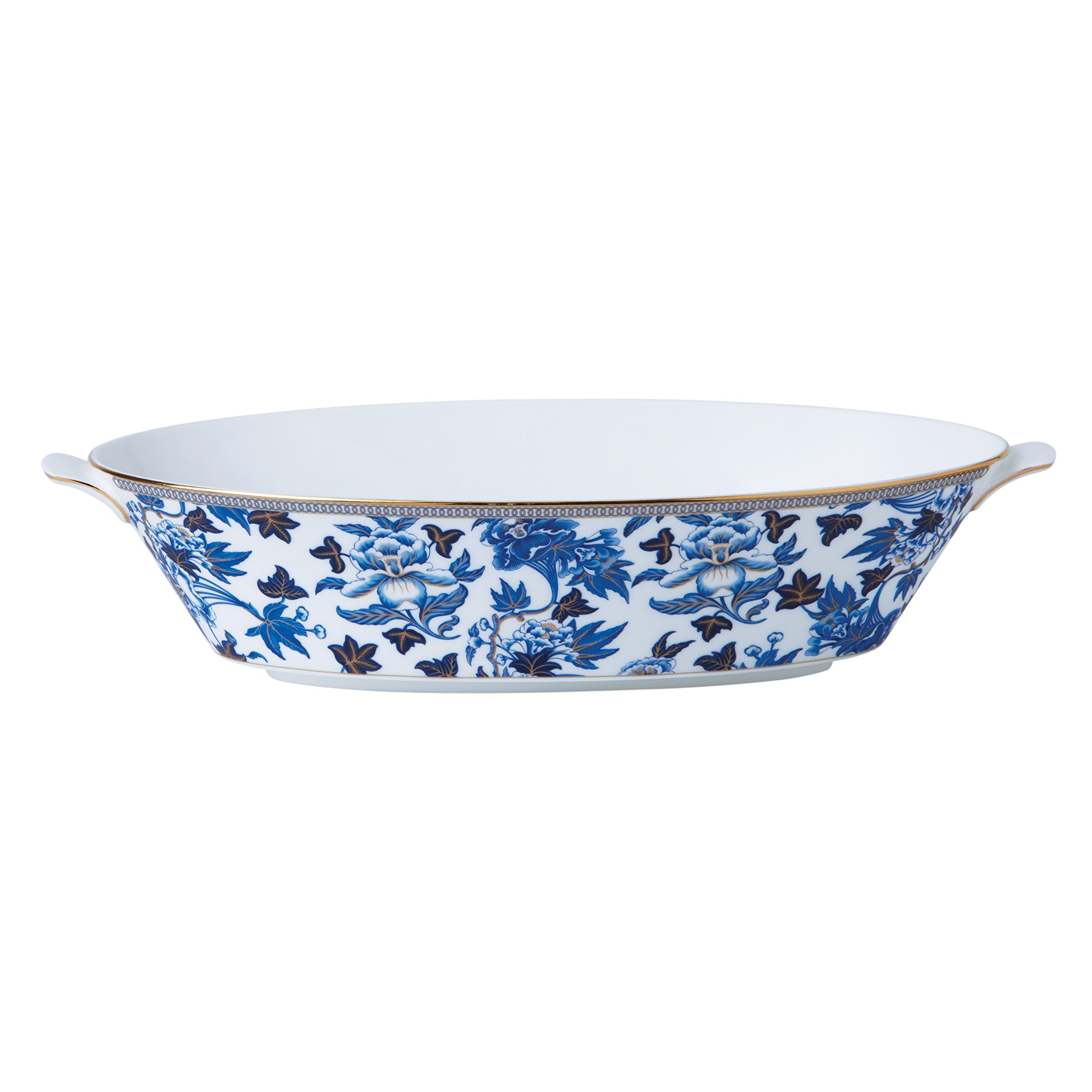Wedgwood 40003901 Hibiscus Oval Serving Bowl