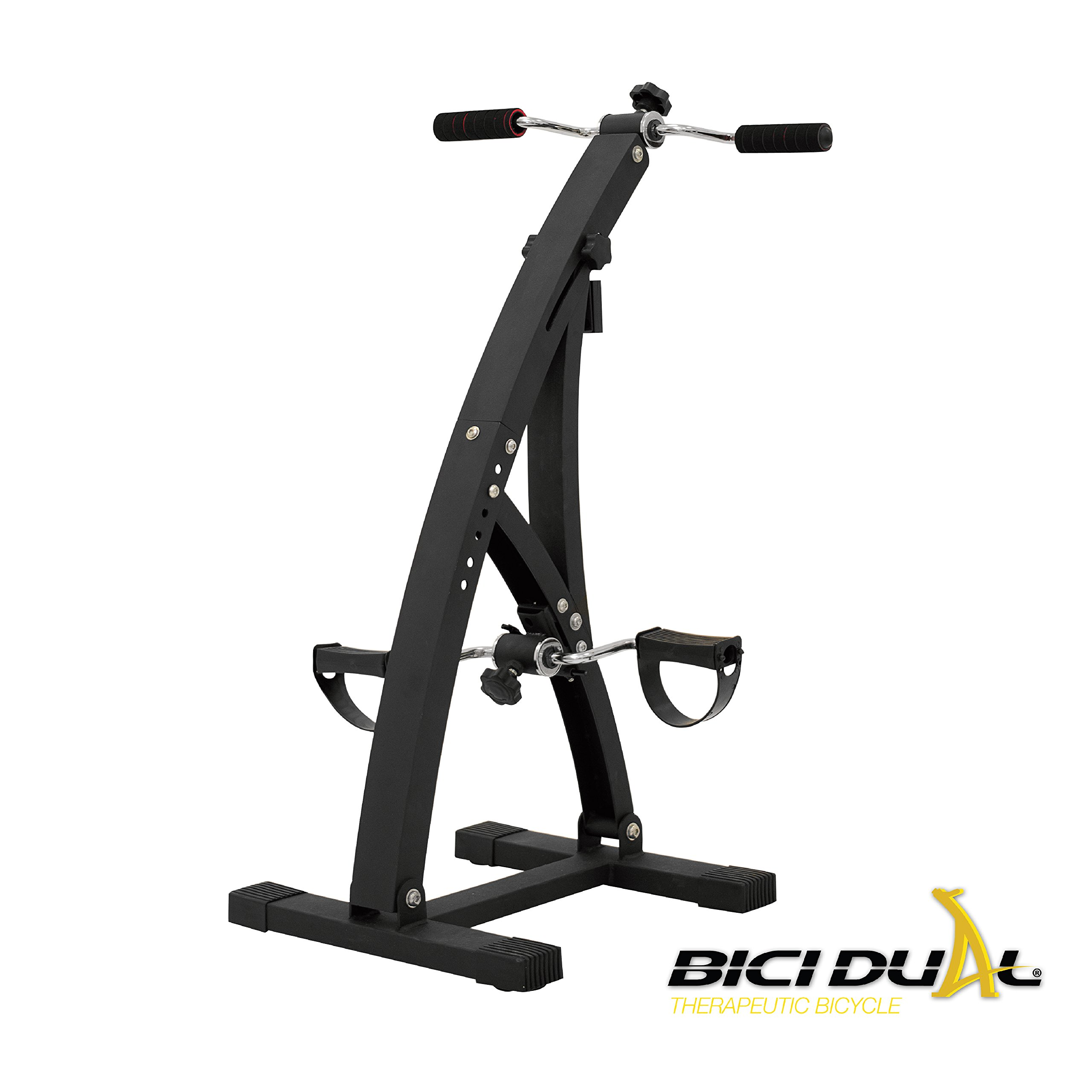 Bicidual - Low Impact Total Body Exerciser & Physiotherapy Machine. Workout your Arms and Legs and Enhance your Blood Circulation with this Indoor Bike while Sitting in the Comfort of your Home by Bicidual