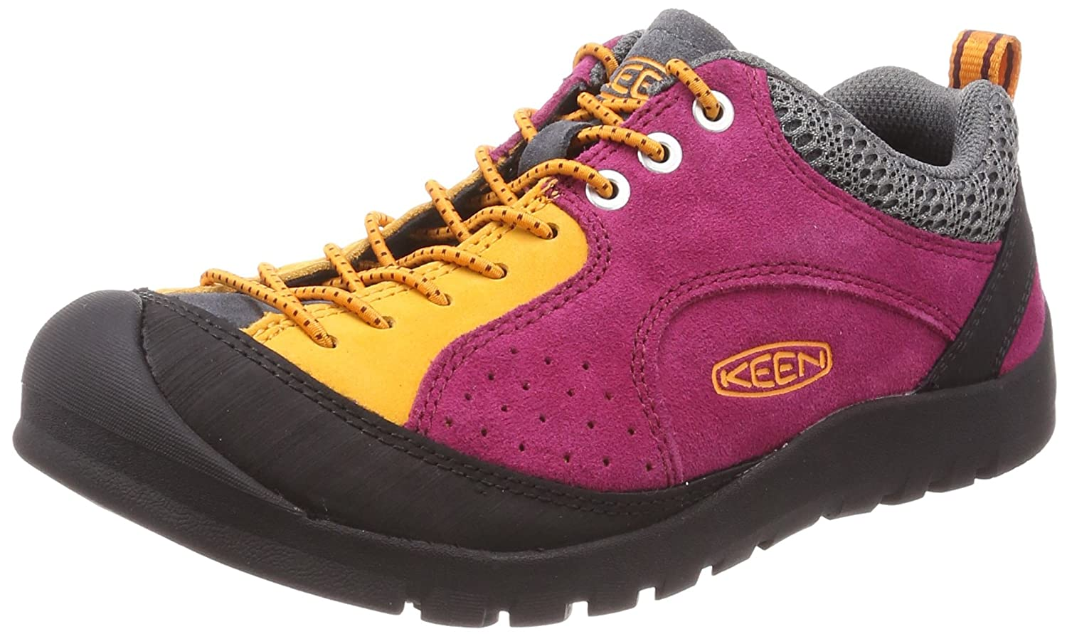 KEEN Women's Jasper Rocks SP-W Hiking Shoe B071K3G6P5 7.5 B(M) US|Red Plum/Apricot