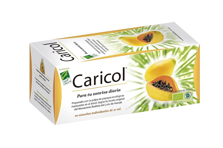 100% natural Caricol Enzimas de Papaya - 20 Unidades