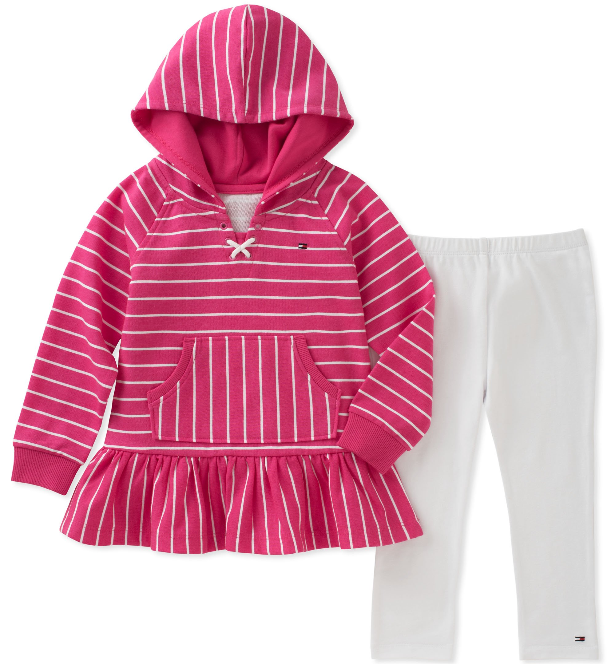 Tommy Hilfiger Baby Girls Long Sleeve Tunic Set Pant Sets Baby