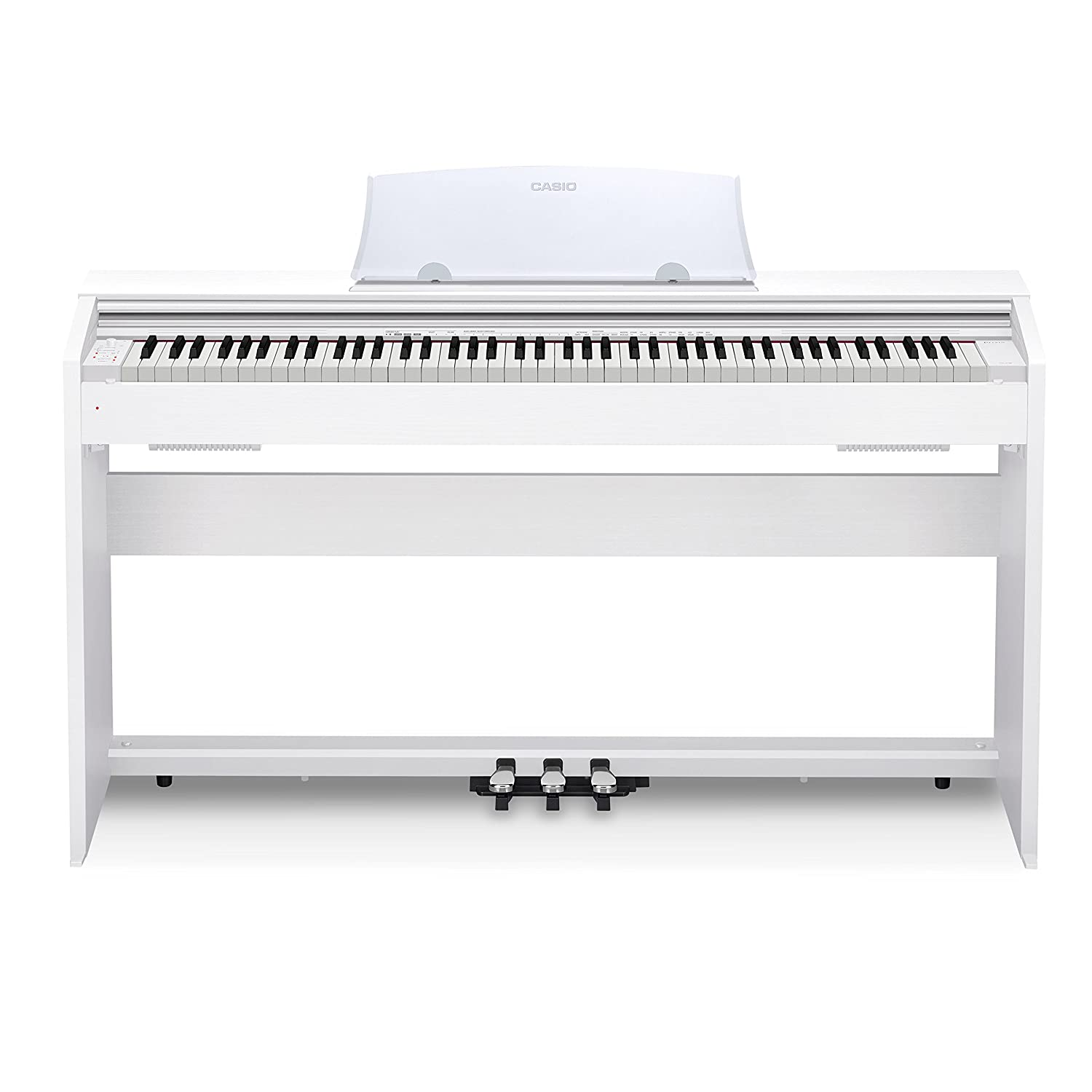 Casio PX770 WH Privia Digital Home Piano, White Casio Inc. PX-770 White