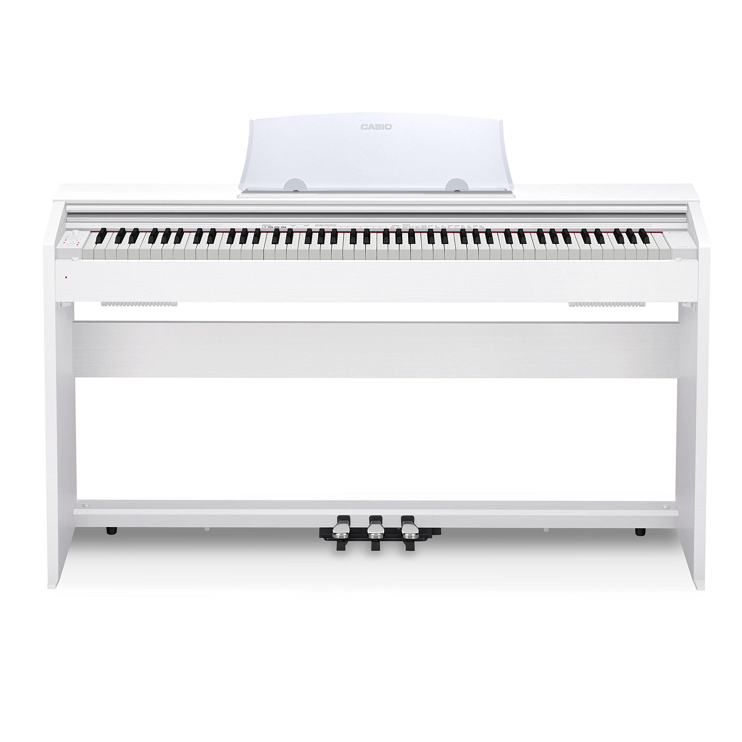 Casio PX-770 WH Privia Digital Home Piano, White by Casio