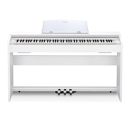 b0a2b4dfec8 Amazon.com  Casio PX-770 WH Privia Digital Home Piano