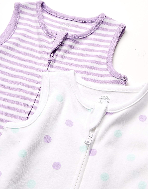 2 St/ück M/ädchen Infant-and-Toddler-Sleepers Baby-Schlafsack aus Baumwolle Essentials Baby