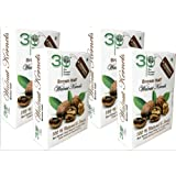 3P Kashmiri Brown Walnut Kernels Without Shell- 1 kg (250 gm X 4 packs)