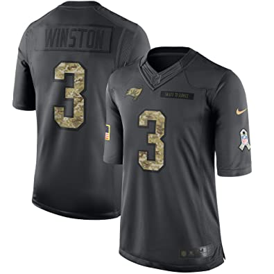 aa8c2c2b3 Image Unavailable. Image not available for. Color  Jameis Winston Tampa Bay Buccaneers  Nike Salute To Service Limited Jersey ...