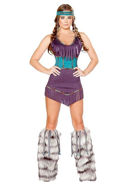 Amazon.com: Tribal Hottie Costume, Sexy Disfraz de india ...