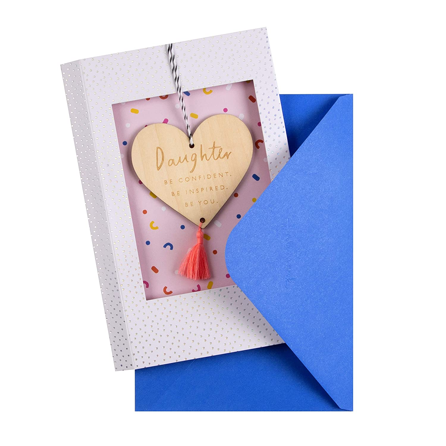 with Wooden Keepsake Decoration Birthday Card for Daughter from Hallmark
