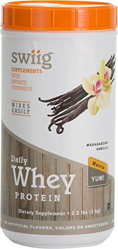 swiig Daily Whey Protein Matrix Vanilla 2.2lbs