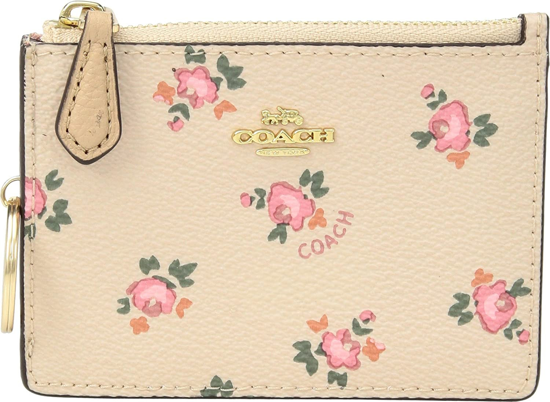 COACH Floral Bloom Mini ID...