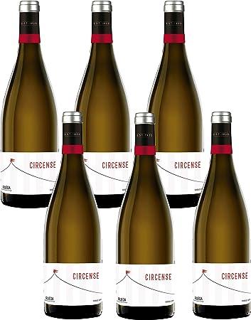Circense Verdejo - 6 Botellas de 750 ml - Total: 4500 ml
