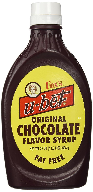 Amazon.com : Fox's u-bet 22-Oz. Original Chocolate Syrup : Grocery ...