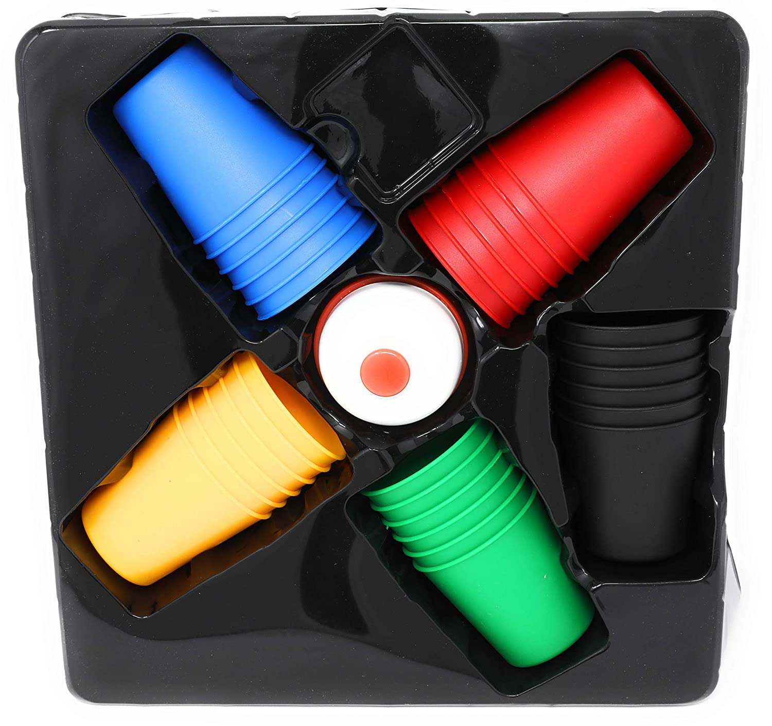 Tradeopia Corp Speed Cups Stacking Game Set