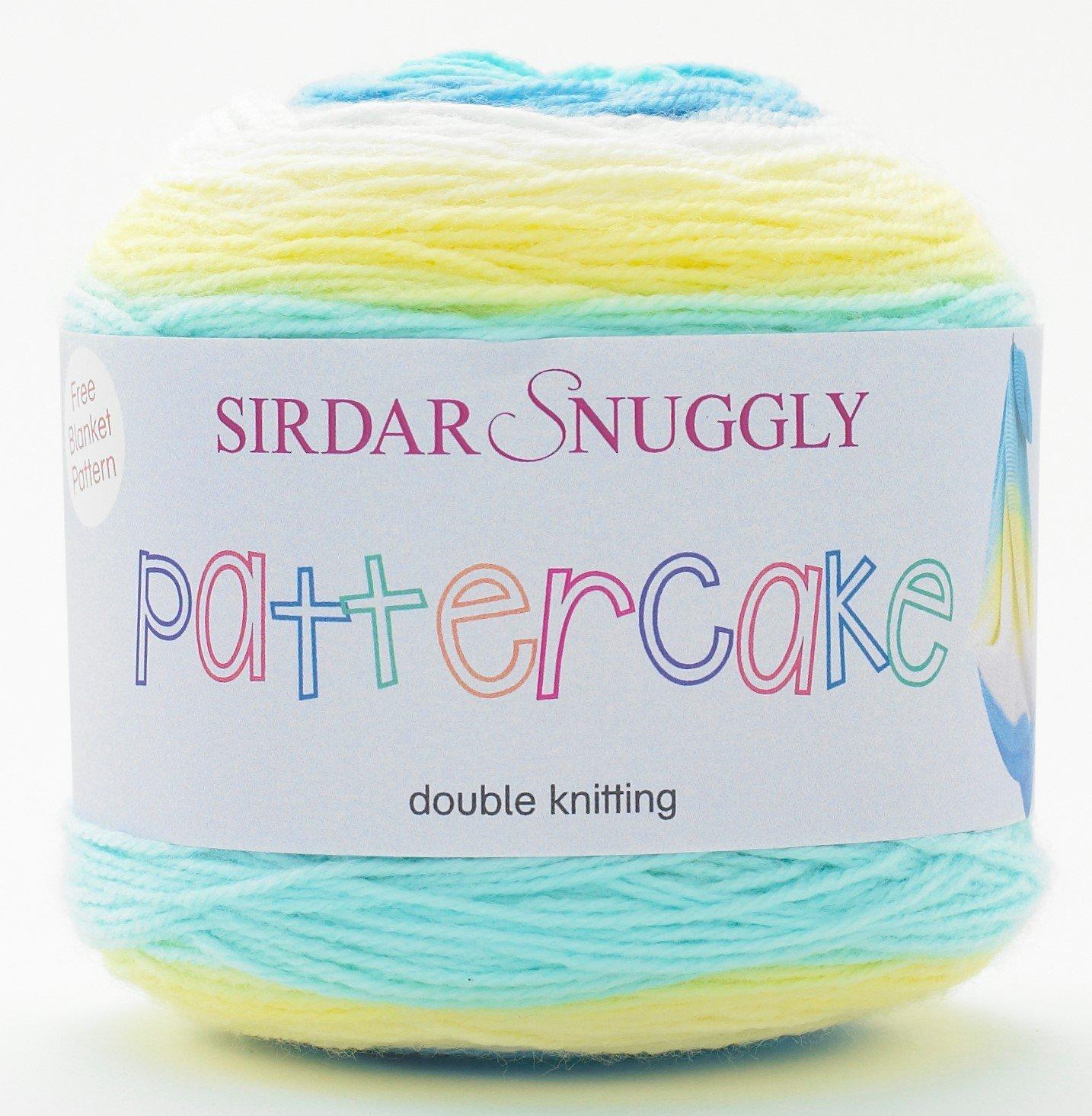 Yarn 150g Sirdar Snuggly Pattercake Seaside surprise 753 DK wool
