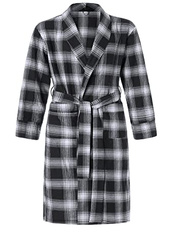 Latuza Men s Cotton Flannel Robe at Amazon Men s Clothing store  074c61c93