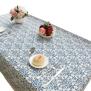 NiSeng Tovaglie da tavola Eleganti Vintage Stampato Tovaglia per ...