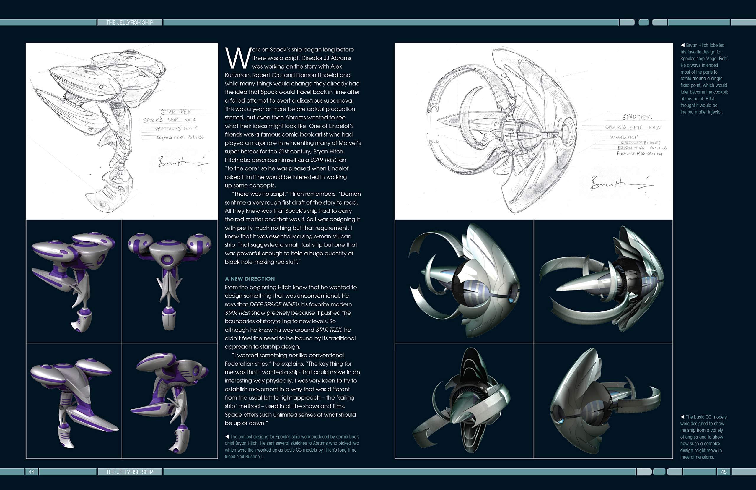 Amazon fr - Star Trek: Designing Starships Volume 3: The