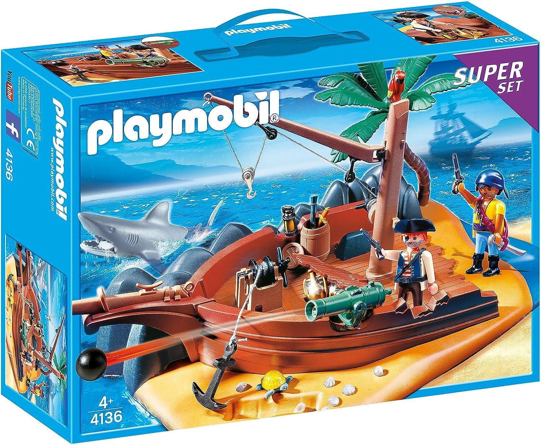 PLAYMOBIL Super Set Isla Pirata: Amazon.es: Juguetes y juegos
