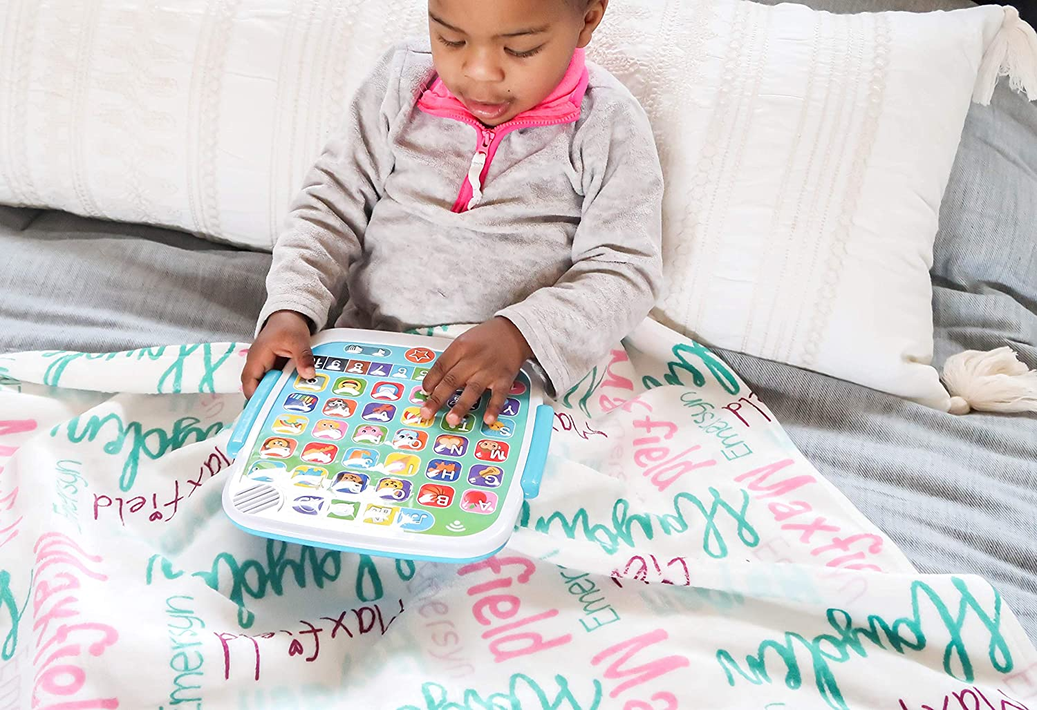 Personalize2 Full Name Blankets Boy Full Name