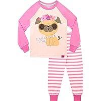 Harry Bear Pijamas para Niñas Pug Más Bonito