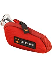 Protec French Horn Neoprene Mouthpiece Pouch, Red