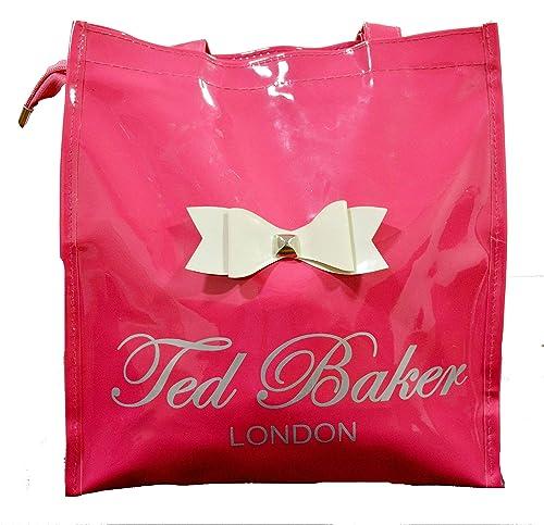 95e7b9a95 DEVWEBZONE Glossy PU Pink Tote Bag for Women  Amazon.in  Shoes   Handbags