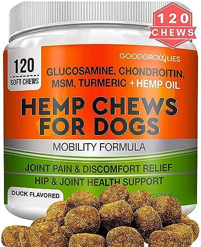 GOODGROWLIES Hemp Hip & Joint Supplement