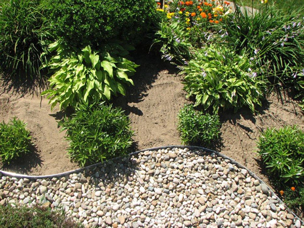 Amazon.com : Dimex EasyFlex Aluminum Landscape Edging Project Kit, Will Not  Rust Like Steel, Bronze (1806BZ 24C) : Garden Border Edging : Garden U0026  Outdoor