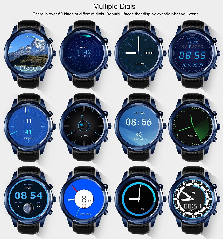 LEMFO LEM5 Pro Smart Watch Smartwatch Android 5.1 Relojes ...